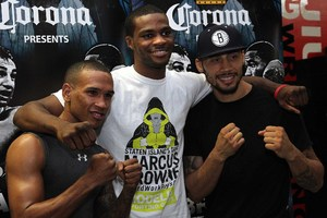 Dominguez, Browne and Galarza at Gleasons