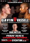 Gavin: 'Ill Beat Vassell With Boxing Science'