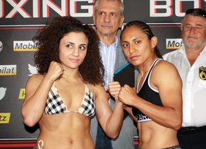 Kentikian and Moreno at weigh in