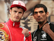 (L-R) Gradovich / Munoz (Photo © Chris Farina / Top Rank)