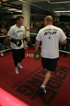 Geale And Barker Hold Media Workout In New York