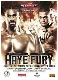 Haye vs Fury
