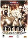Peter Fury Fears Haye Could Back Out Again