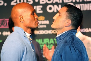 Hopkins and Murat faceoff