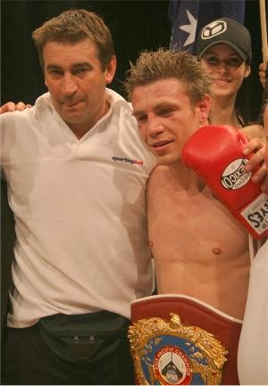 Smith and Katsidis make a good team (pic Paul Upham)