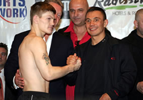 Hatton and Tszyu show mutual respect before the IBF title showdown