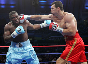 Klitschko's reach was a major factor (pic Hogan Photos)