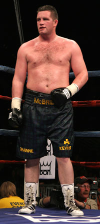 Kevin McBride (pic Tom Hogan)