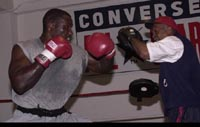 Former heavyweight champ Hasim Rahman remembers his first fight at the Baltimore Arena in 1993